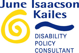 June Isaacson Kailes, Disability Policy Consultant logo